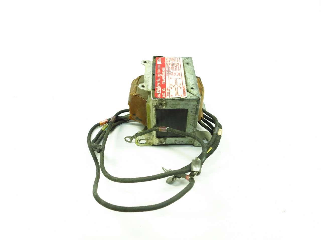 General Electric GE 9T56Y1803 1PH 75VA 240//480V-AC 120//240V-AC Transformer