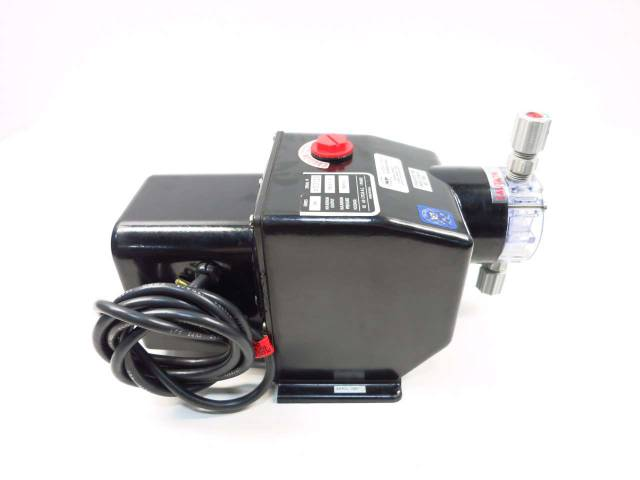 PULSAFEEDER SERIES 200 CHEM-TECH 100GPD 100PSI METERING PUMP 115V-AC D524690
