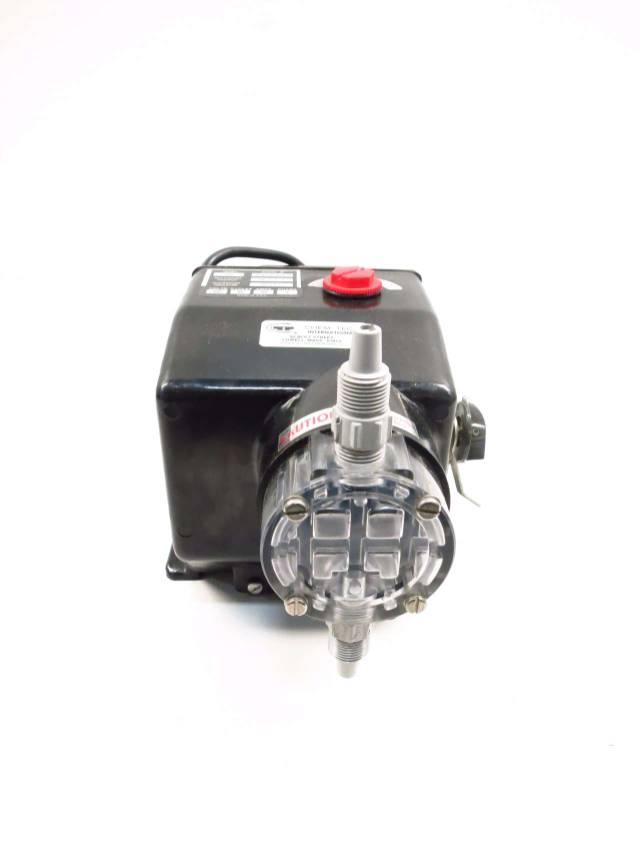 PULSAFEEDER SERIES 200 CHEM-TECH 100GPD 100PSI METERING PUMP 230V-AC D524917
