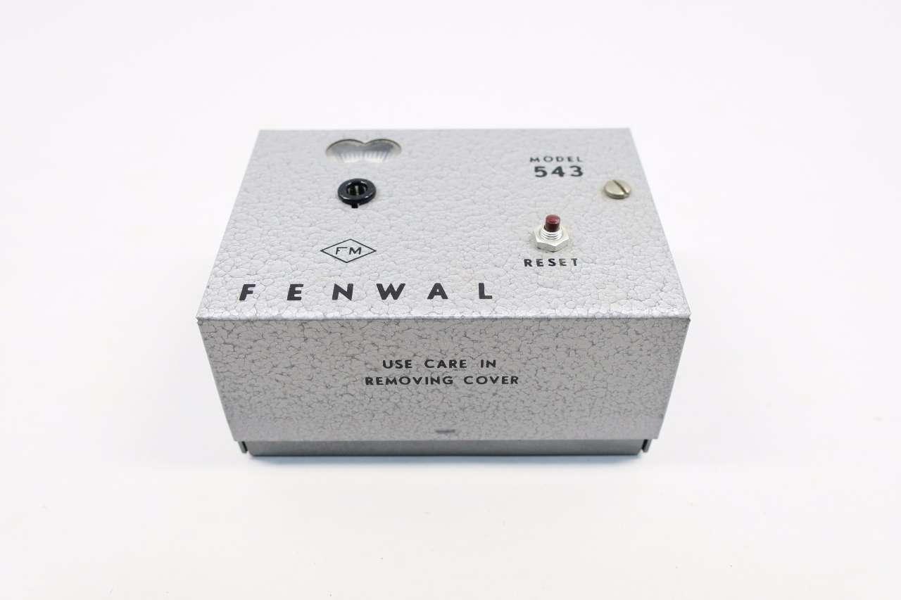 FENWAL MODEL 543 TEMPERATURE CONTROL UNIT WITH CABLES