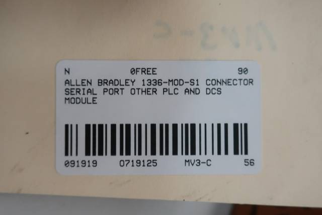 ALLEN BRADLEY 1336-MOD-S1 CONNECTOR SERIAL PORT