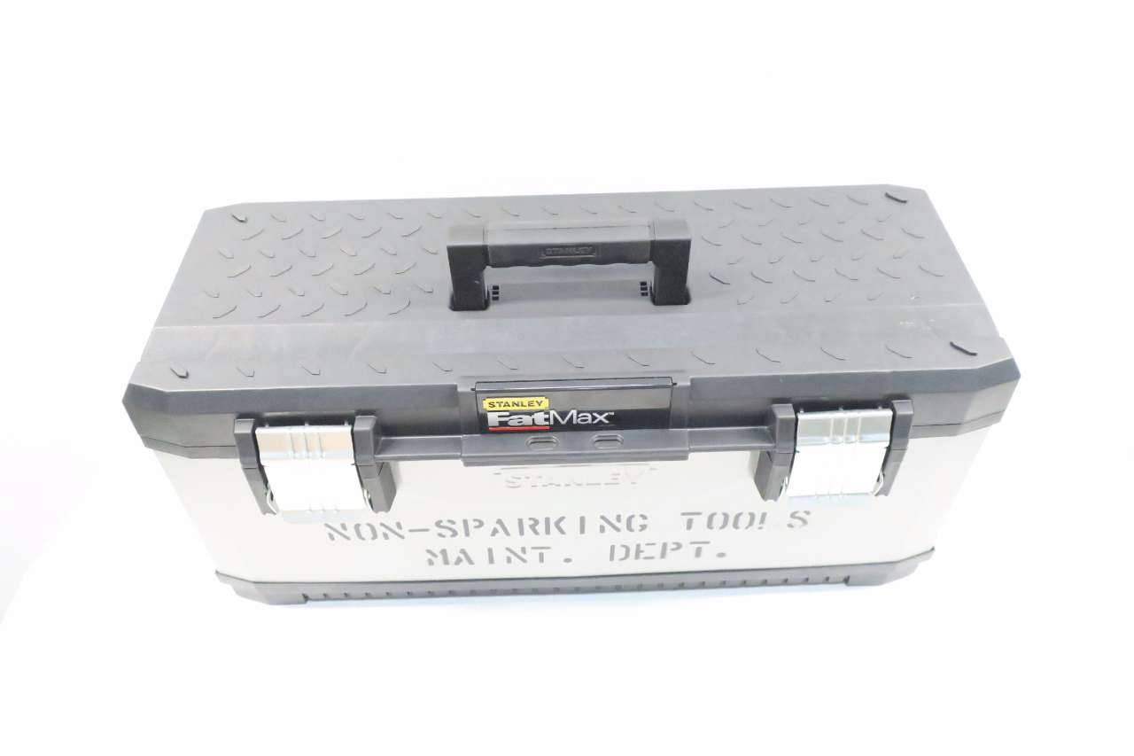 Stanley 026180R Fatmax Metal Plastic Tool Box 26 In.