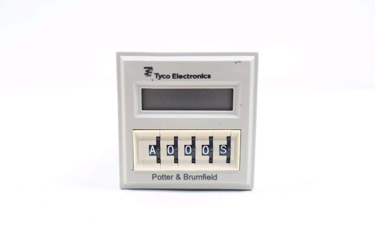 POTTER /& BRUMFIELD TIME DELAY RELAY//COUNTER CNT-35-96