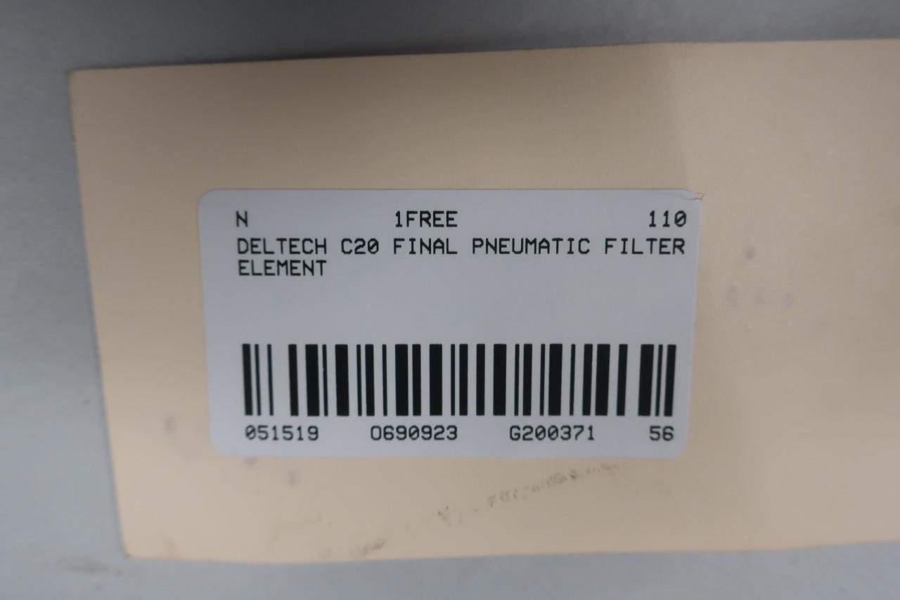 DELTECH C20 Pneumatic Final Filter Element