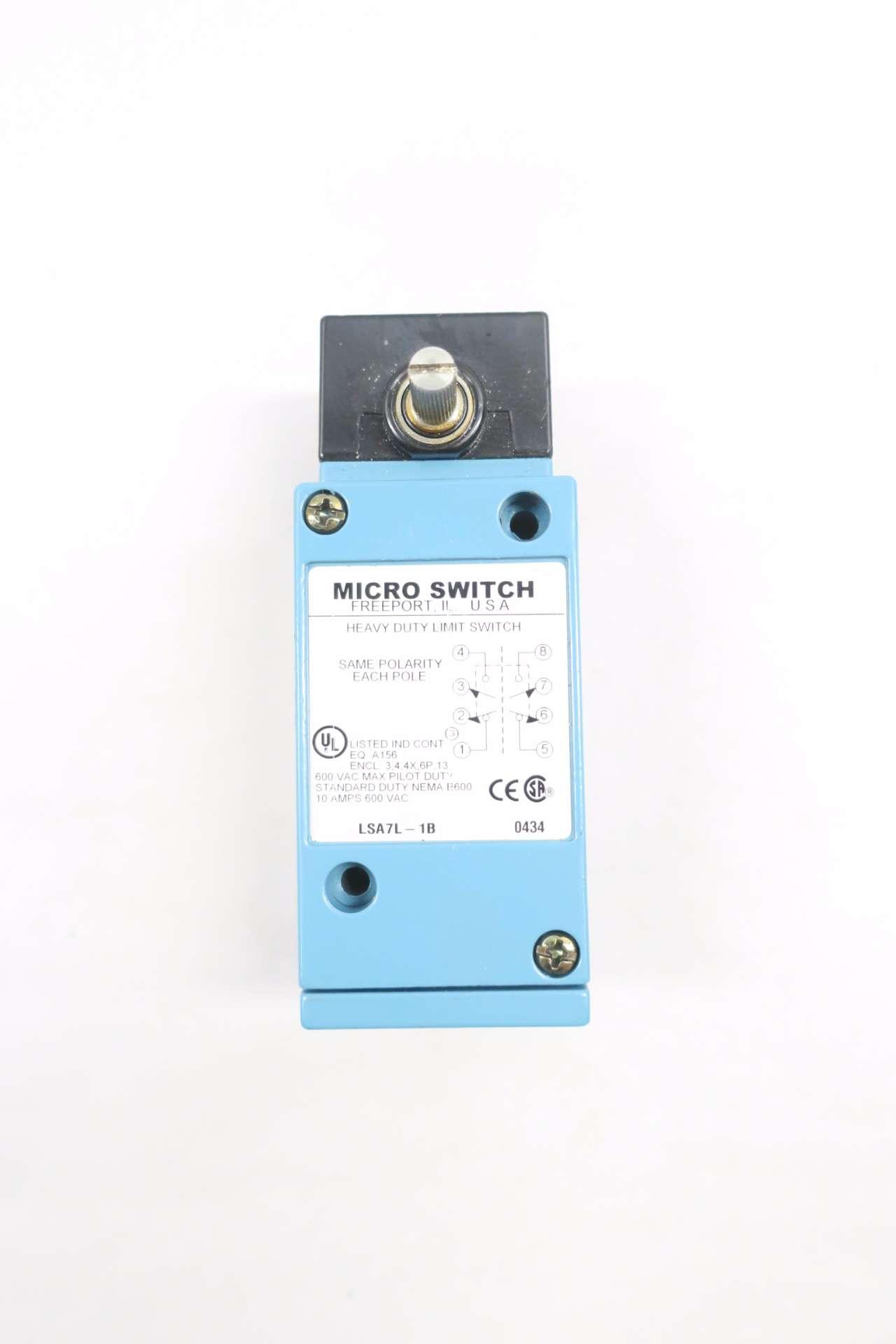 Micro Switch LSA7L Limit Switch Fully Functional and Excellent !!