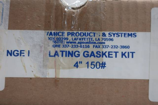 ADVANCE PRODUCTS & SYSTEMS 4IN FLANGE INSULATION GASKET KIT D659834