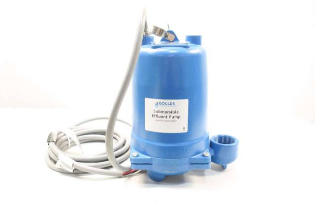 GOULDS WE1034H 3450RPM 2IN NPT 460V 1HP SUBMERSIBLE PUMP D571444