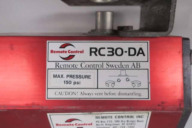 REMOTE CONTROL INC RC30-DA 150PSI PNEUMATIC VALVE ACTUATOR D577542