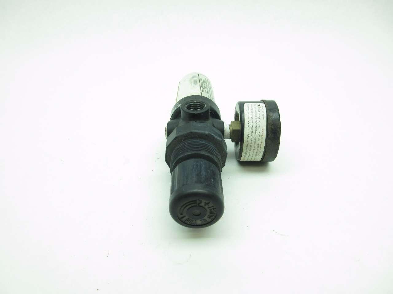 NORGREN B07-201-M1KA PNEUMATIC FILTER-REGULATOR 150PSI G1//4 D578612