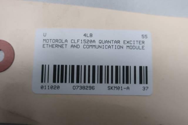 MOTOROLA CLF1520A QUANTAR EXCITER