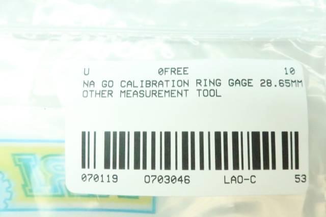 GO CALIBRATION RING 28.65MM