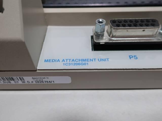 EMERSON 1C31206G01 OVATION MEDIA ATTACHMENT BASE UNIT CHASSIS MODULE R701951