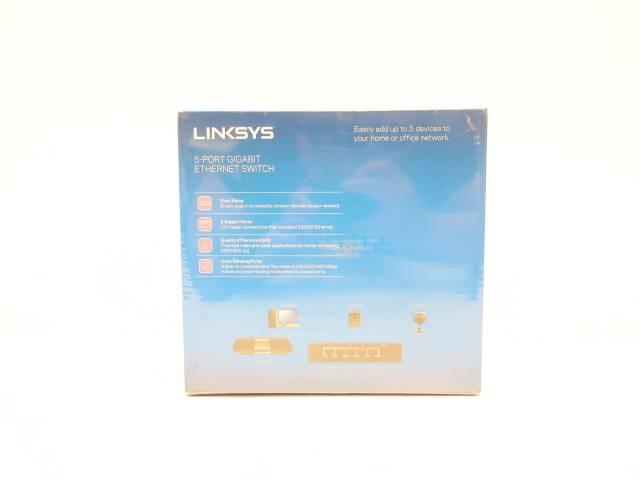 LINKSYS SE3005 5-PORT GIGABIT ETHERNET  SWITCH