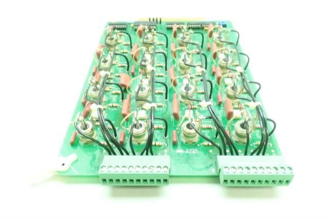 GENERAL ELECTRIC GE 7610015 TRIAC CARD REV B