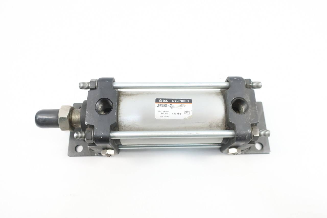 Details about  /Smc CDA1LN50-75 Double Acting Pneumatic Cylinder 50mm 3//8in 145psi 75mm