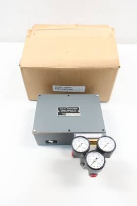 MOORE PRODUCTS 72G915 ELECTRO-PNEUMATIC VALVE POSITIONER