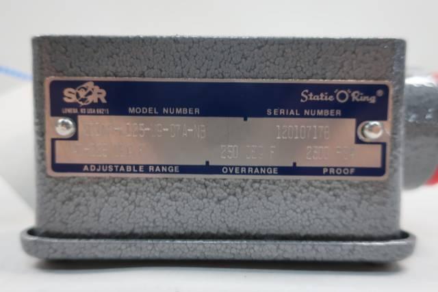 SOR 201N6-K125-U9-C7A-NB TEMPERATURE SWITCH 40-225F 2300PSI