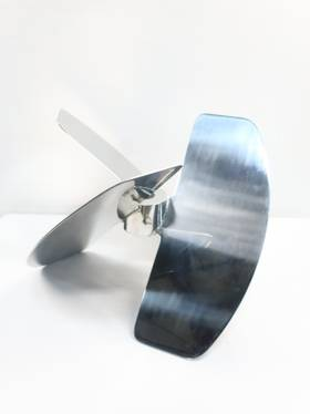 NA STAINLESS LOW SHEAR ELEPHANT EAR MIXING IMPELLER 24IN MISCELLANEOUS