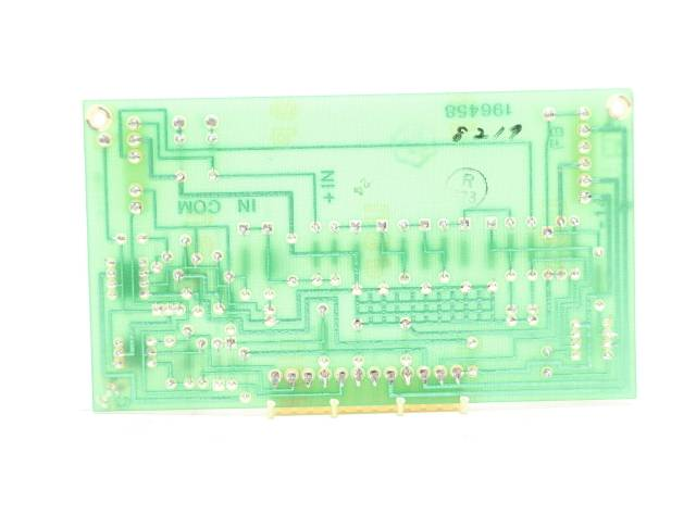 LEEDS NORTHRUP 445858 PREAMPLIFIER REV G PCB CIRCUIT BOARD R690810