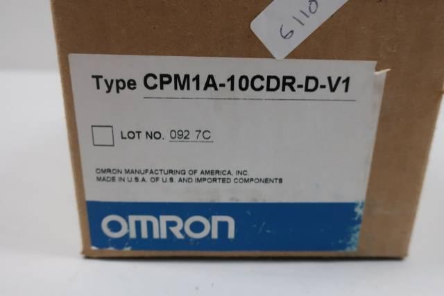 OMRON CPM1A-10CDR-D-V1 PROGRAMMABLE CONTROLLER MODULE