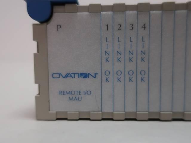 EMERSON 1C31179G02 OVATION REMOTE MAU I/O MODULE