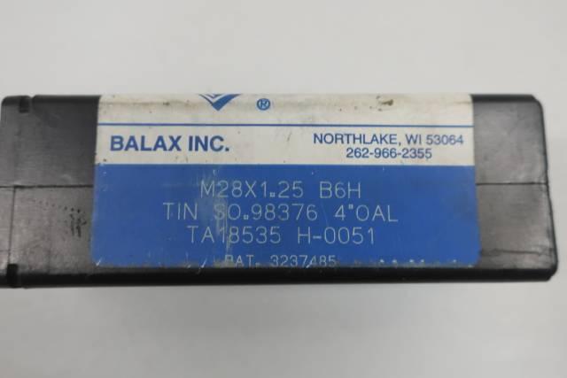 BALAX B6H TIN M28X1.25 PIPE TAP