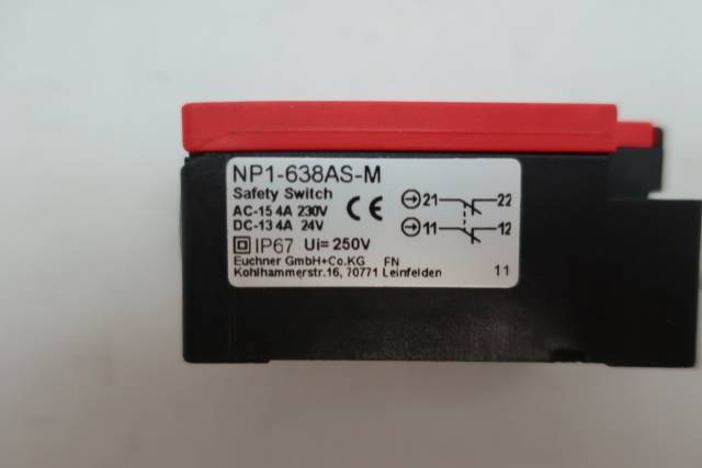 EUCHNER NP1-638AS-M SAFETY SWITCH