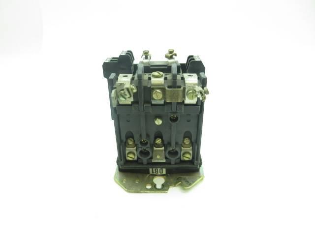 ALLEN BRADLEY 40411-499-01-0850 DC CONTACTOR 115V-AC 15A D599588