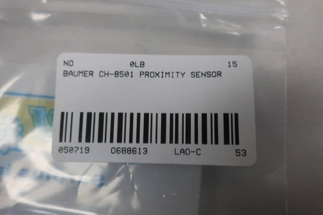 BAUMER CH-8501 PROXIMITY SENSOR