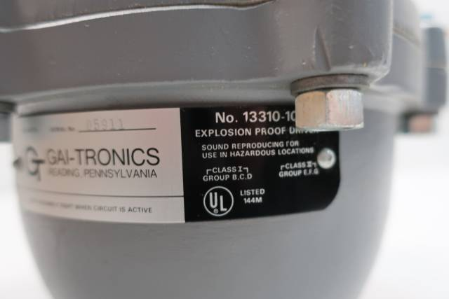 GAI-TRONICS 13310-101 EXPLOSION PROOF SPEAKER DRIVER 30W 16OHM