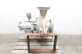FLOWSERVE 6HQ155 STEEL 6IN 2IN 8IN CENTRIFUGAL PUMP