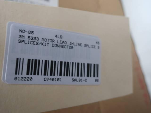 3M 5333 MOTOR LEAD INLINE SPLICE KIT 2 AWG-250 KCMIL