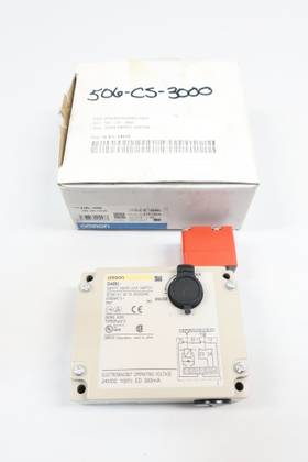 OMRON D4BL-2CRA STI SAFETY DOOR LOCK 250V-AC OTHER SWITCH