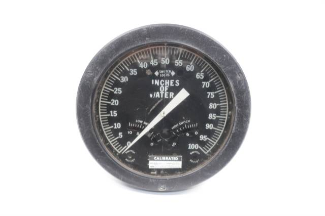 itt-barton-differential-6in-0-100in-h2o-pressure-gauge