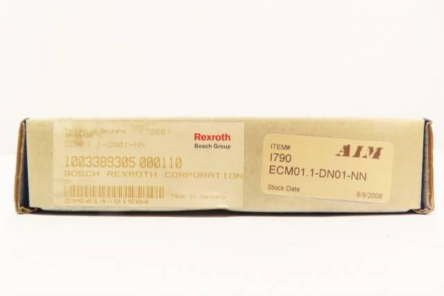 BOSCH REXROTH ECM01.1-DN01-NN DEVICENET COMMUNICATION MODULE