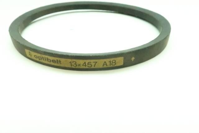 OPTIBELT 13X457 A-18 V-BELT 457MM 13MM D630101