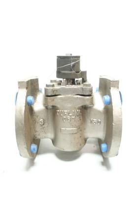 TUFLINE GS 1701280 MANUAL 150 STAINLESS FLANGED 3IN PLUG VALVE
