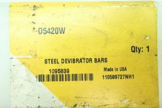 KENNAMETAL D5420W STEEL DEVIBRATOR BAR