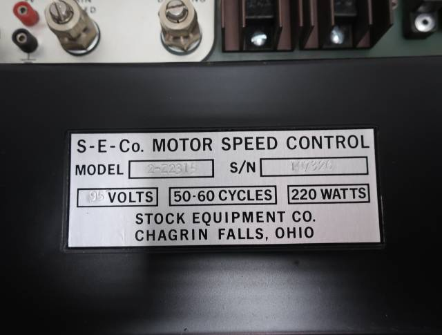 STOCK EQUIPMENT 2-Z2315 95V-AC 220W MOTOR SPEED CONTROLLER R691308