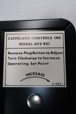 CLEVELAND CONTROLS AFS-951 PRESSURE SWITCH
