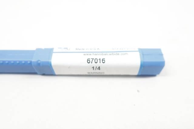 HANNIBAL CARBIDE 67016 1/4IN DRILL BIT D664027
