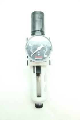 REXROTH AS2-FRE-N038-GAU R432000644 3/8IN 16PSI 0-160PSI NPT PNEUMATIC FILTER-REGULATOR