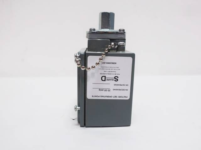 SQUARE D 9012 GAW-22 SERIES C INDUSTRIAL PRESSURE SWITCH