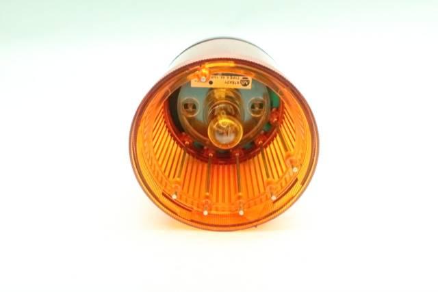 ALLEN BRADLEY 855T-B10DN5 AMBER LIGHT MODULE 120V-AC SER B