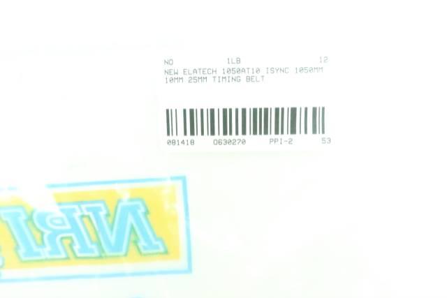 ELATECH 1050AT10 ISYNC TIMING BELT 1050MM 25MM 10MM D630270