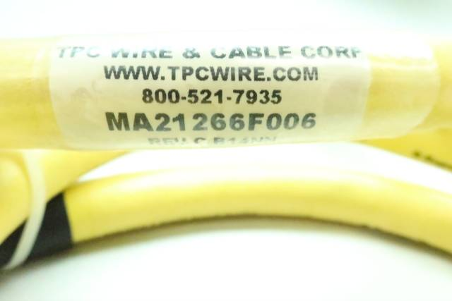 TPC WIRE MA21266F006 CORDSET CABLE 4-PIN 66IN