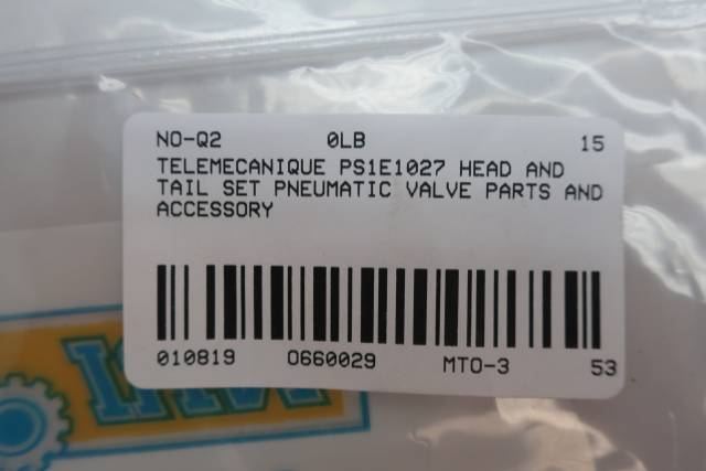 TELEMECANIQUE PS1E1027 HEAD AND TAIL SET D660029