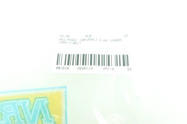 MITSUBOSHI 13X1250LI A-49 V-BELT 1250MM 13MM D630113