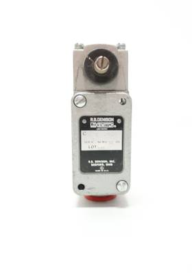TELEMECANIQUE C4BR-JK01 RB DENISON LOX 300V-AC LIMIT SWITCH