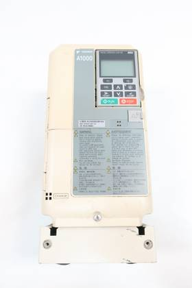 YASKAWA CIMR-AU4A0009FAA A1000 REV A 380-480V-AC 0-400HZ 0-480V-AC AC VFD DRIVE